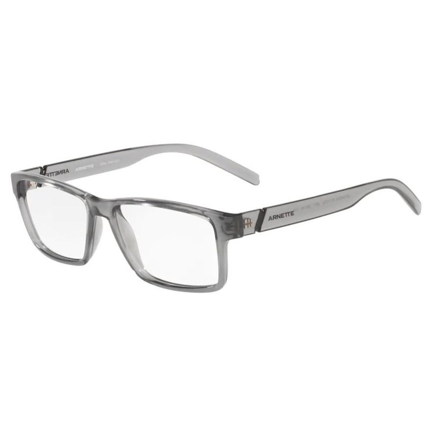Óculos de Grau Arnette AN7179L Leonardo Cinza Translúcido
