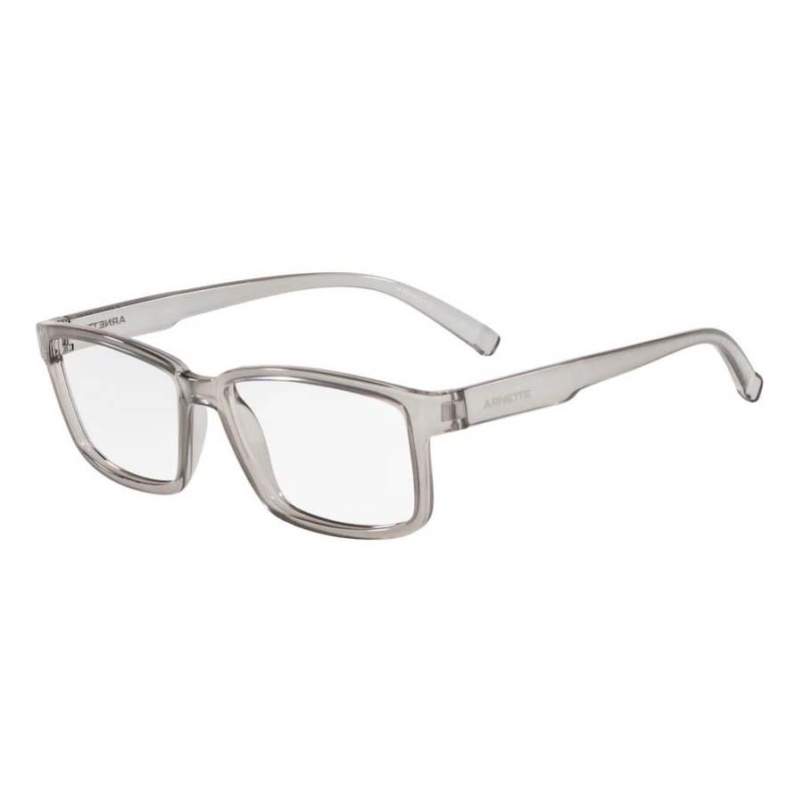 Óculos de Grau Arnette Bixiga AN7175L Cinza Transparente Tamanho 57