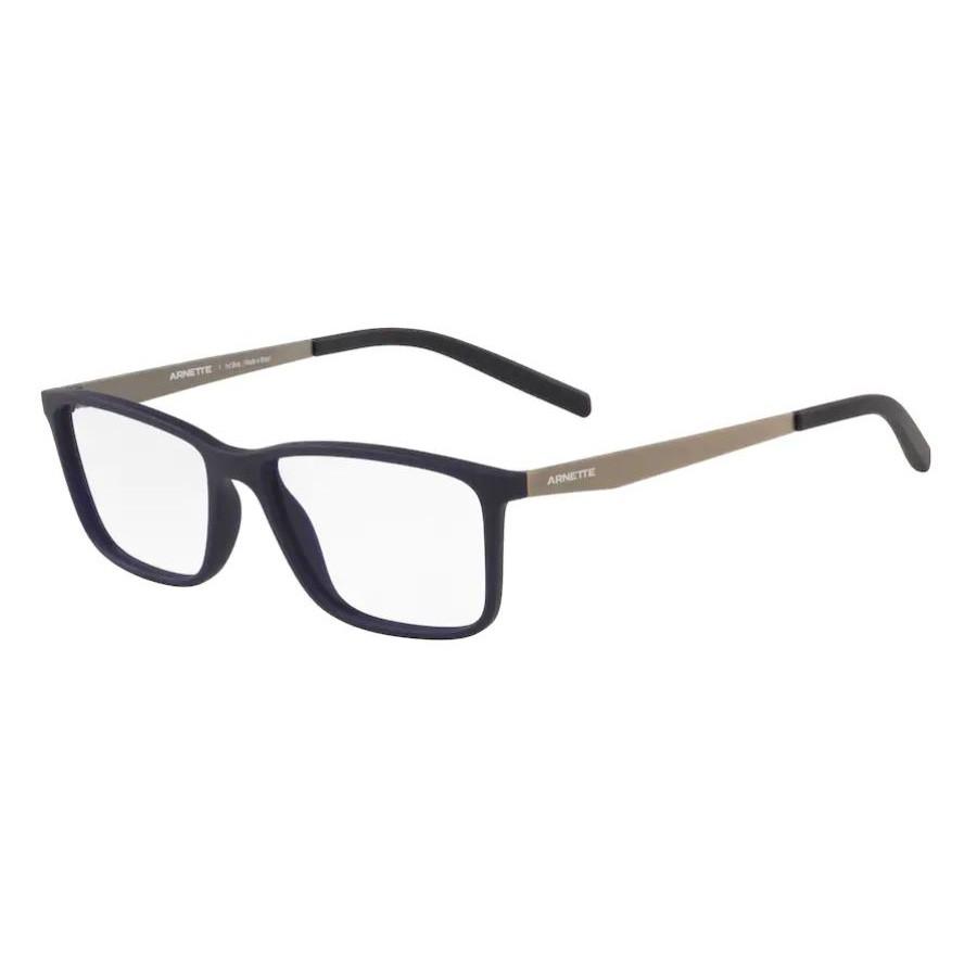 Óculos de Grau Arnette Clang AN7186L Azul Emborrachado Fosco