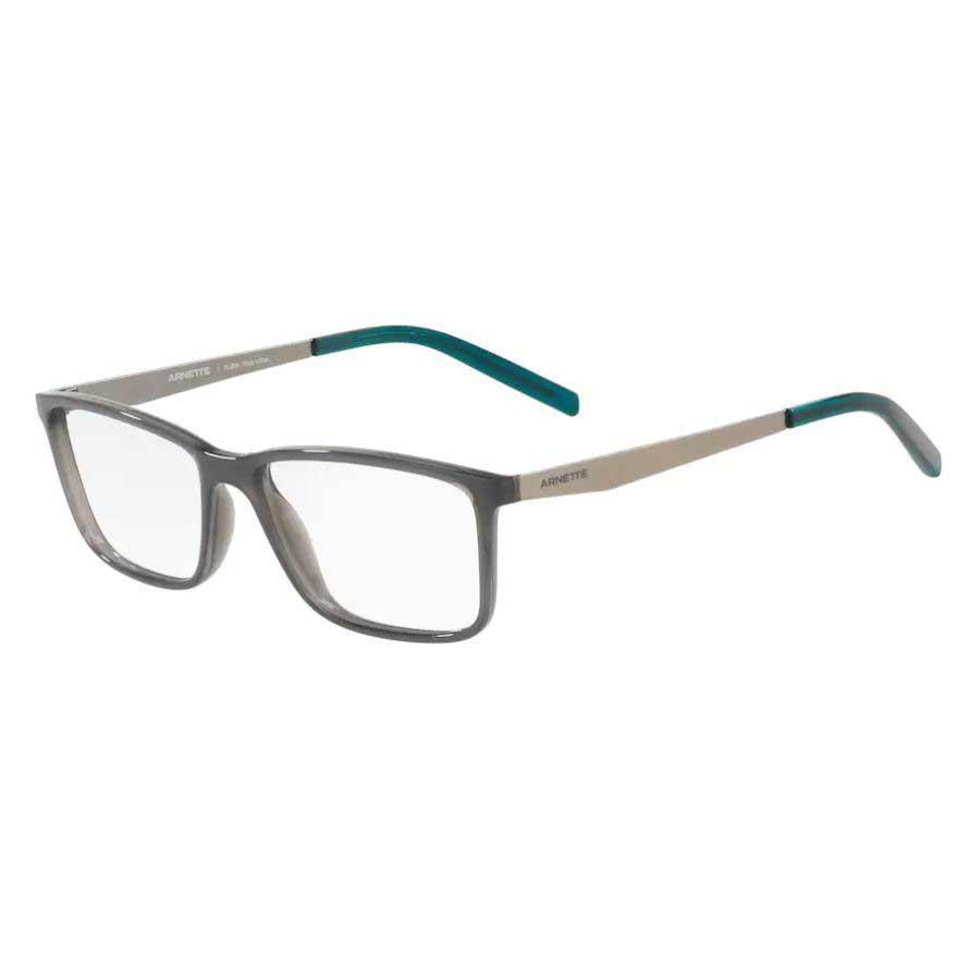 Óculos de Grau Arnette Clang AN7186L Cinza Brilho com Verde