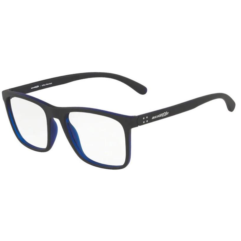 Óculos de Grau Arnette Cuz AN7132L Azul com Preto Fosco Tamanho 54