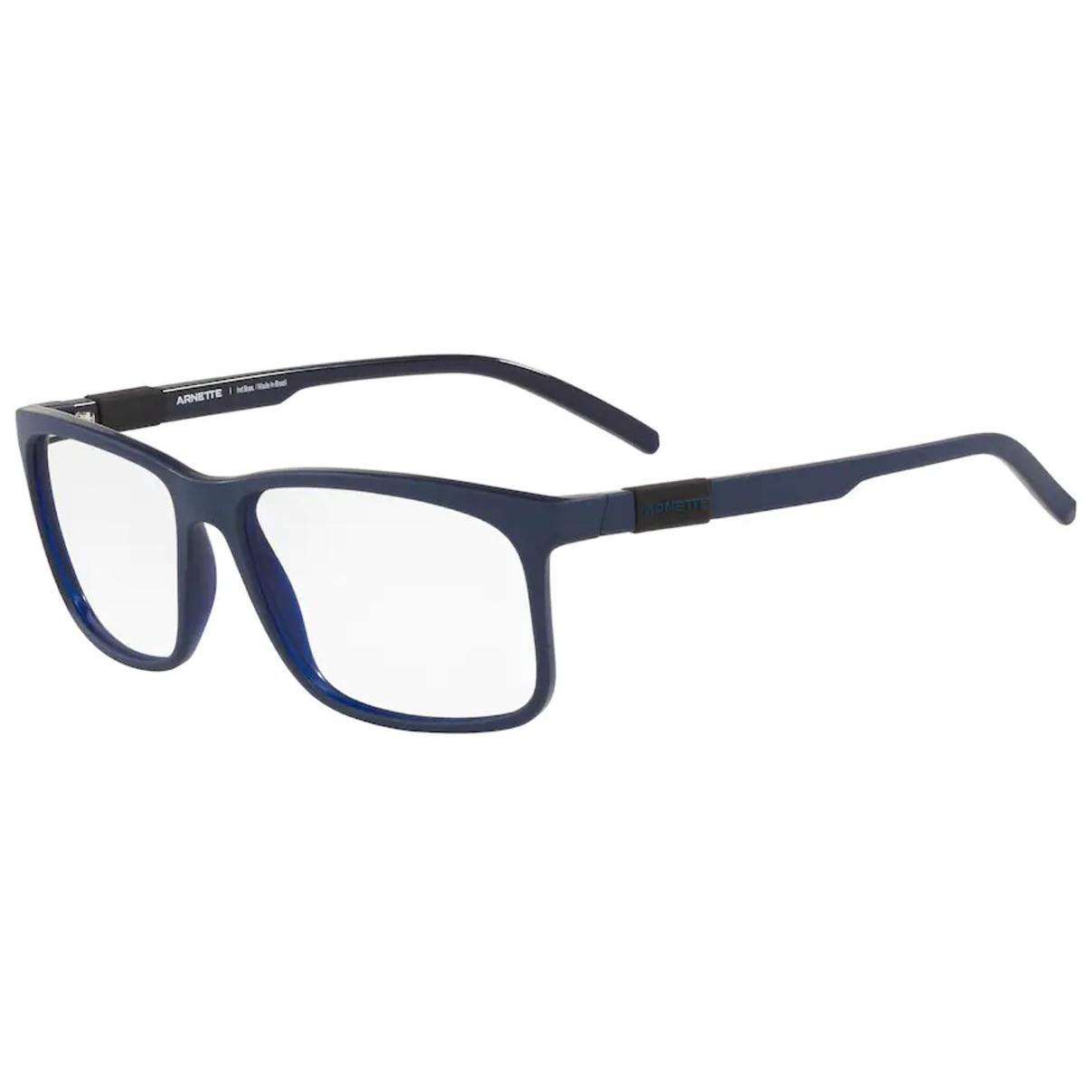 Óculos de Grau Arnette Gordon AN7185L Azul Fosco Quadrado Grande