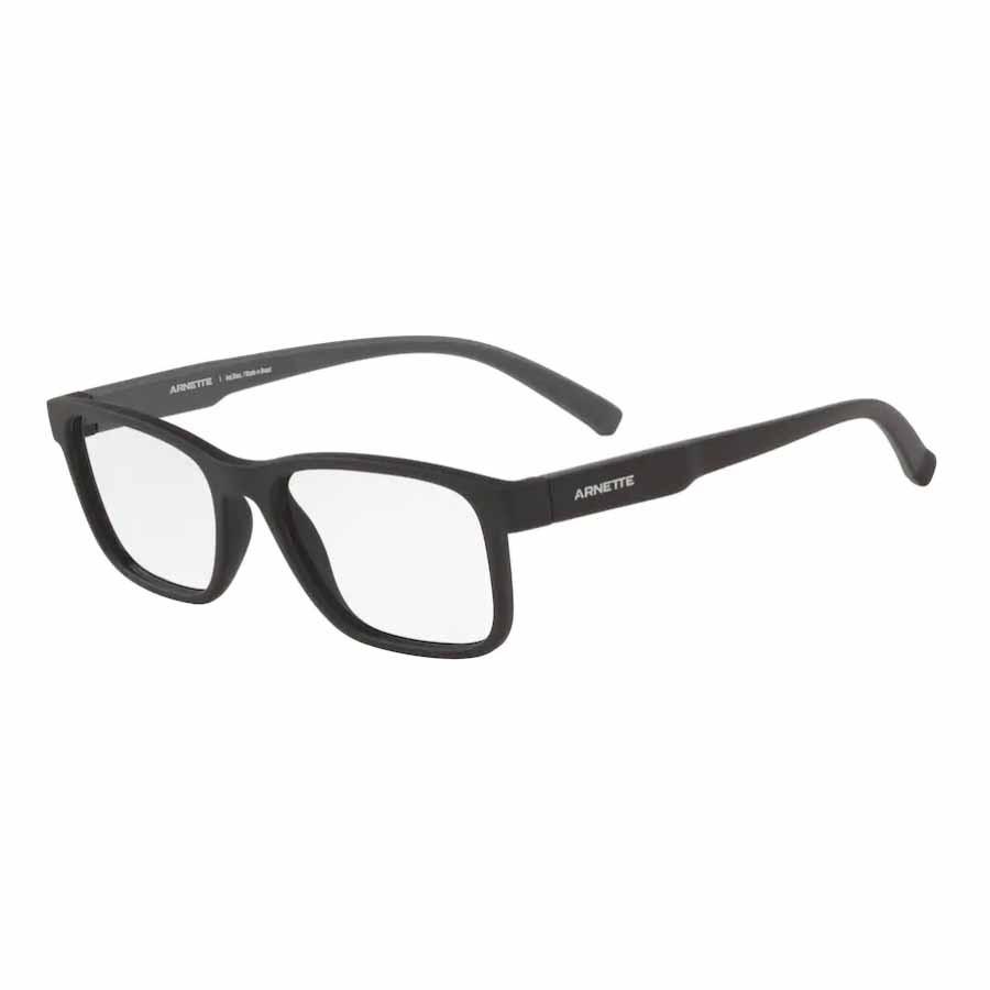 Óculos de Grau Arnette Mooca AN7168L Preto Fosco Tamanho 53