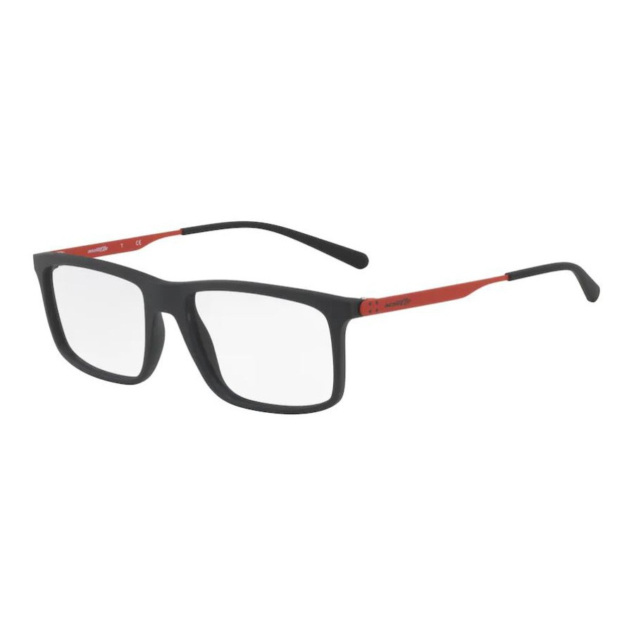 Óculos de Grau Arnette Woot! C AN7137 Preto Fosco com Vermelho