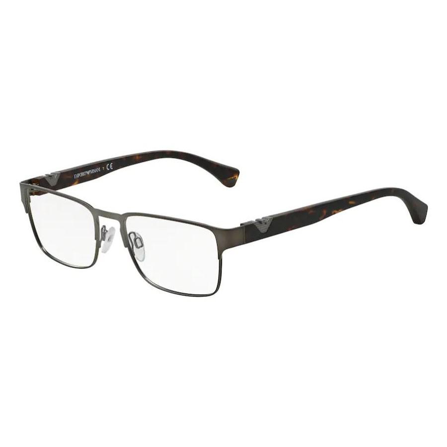 Óculos de Grau Empório Armani EA1027 Cinza com Marrom Havana