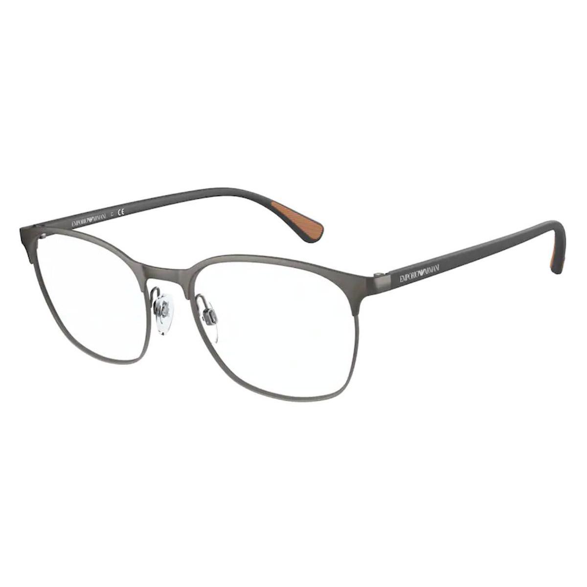Óculos de Grau Empório Armani EA1114 Metal Cinza Fosco