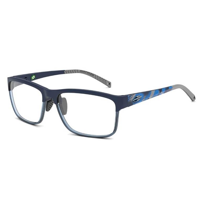 Óculos de Grau Esportivo Mormaii Denver M6086 Azul Escuro Fosco