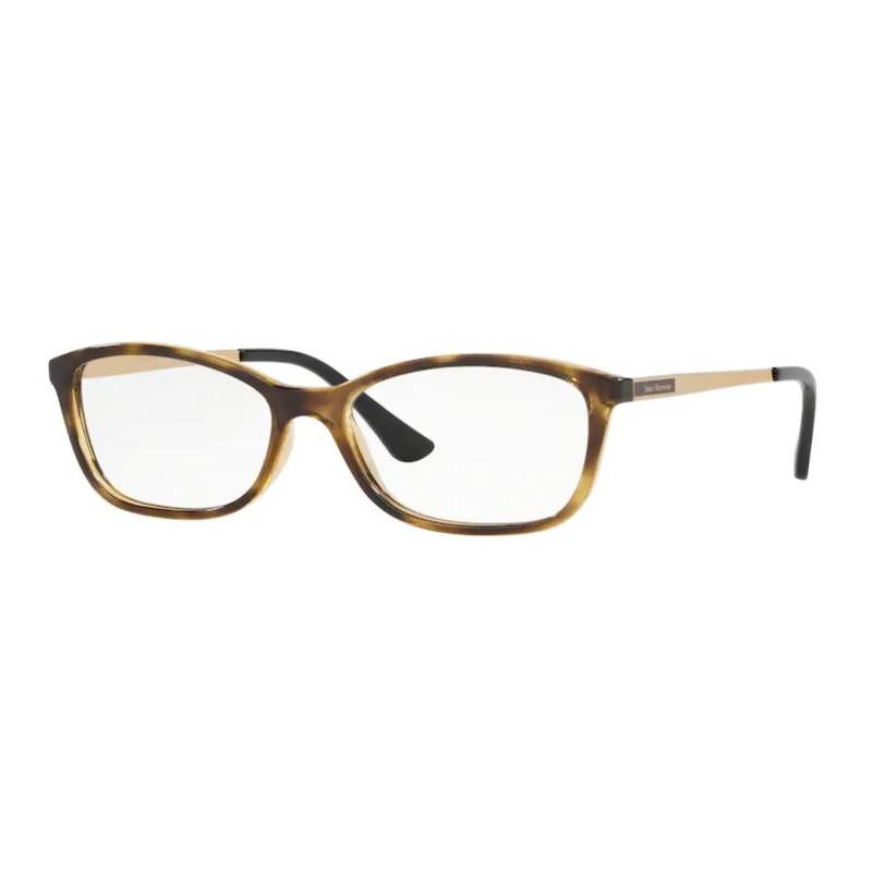 Óculos de Grau Feminino Jean Monnier J83182 Marrom Havana