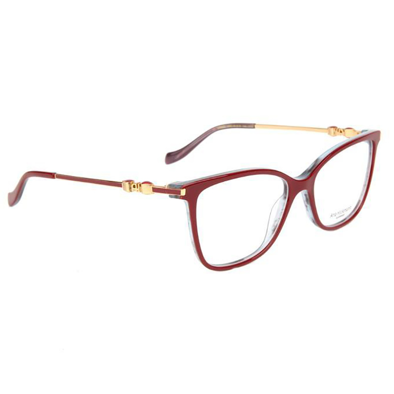 Óculos de Grau Feminino Ana Hickmann AH6343 Bordô Brilho