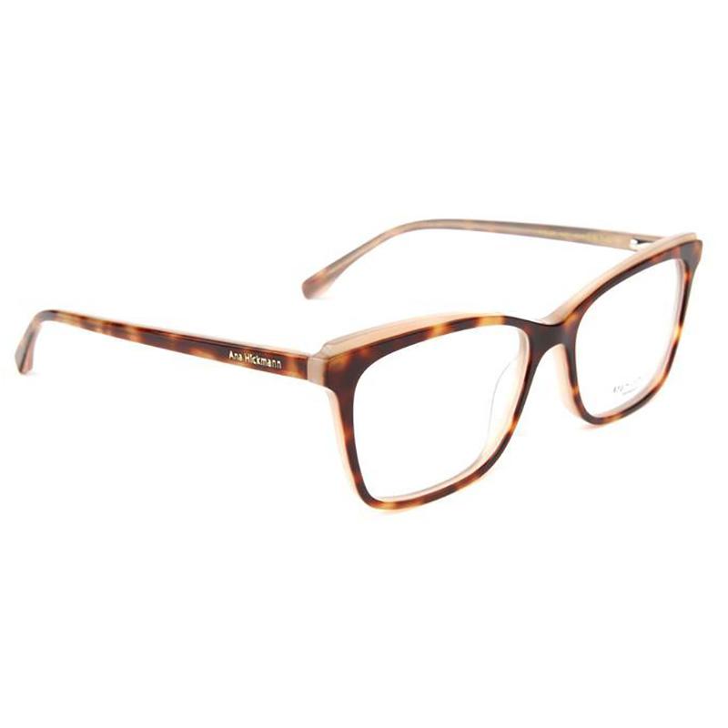 Óculos de Grau Feminino Ana Hickmann AH6385 Marrom Tartaruga