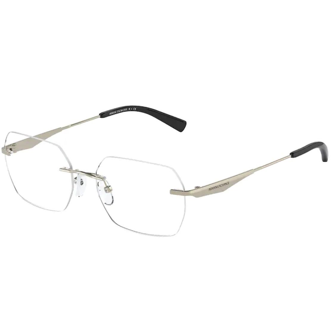 Óculos de Grau Feminino Armani Exchange Parafusado AX1047 Dourado