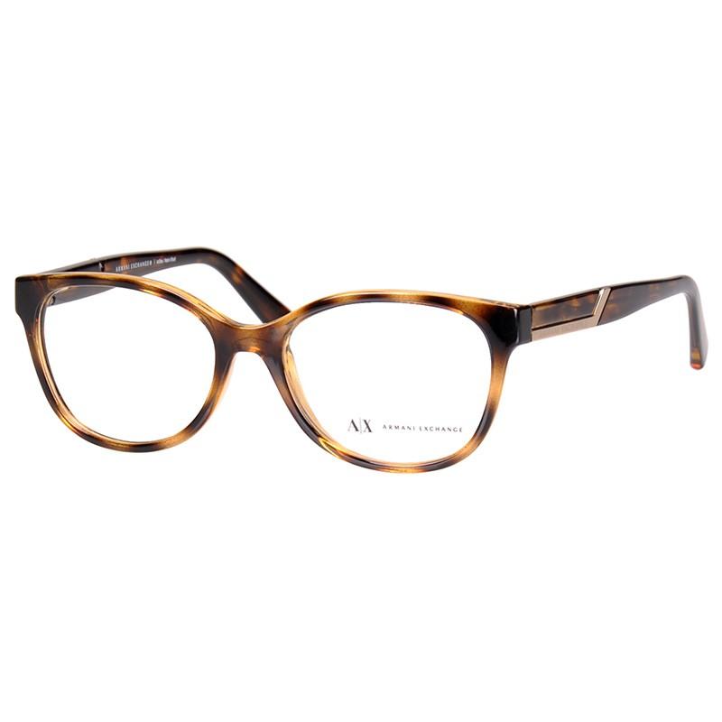 Óculos de Grau Feminino AX3032L Armani Exchange Marrom Tartaruga