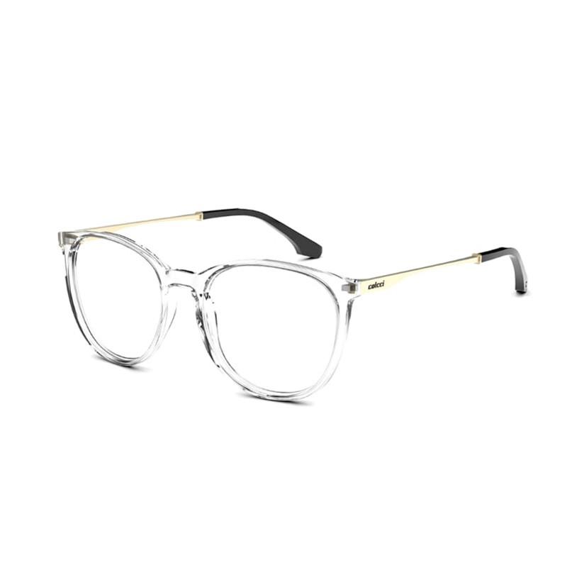 Óculos de Grau Feminino Colcci C6126 Transparente Redondo