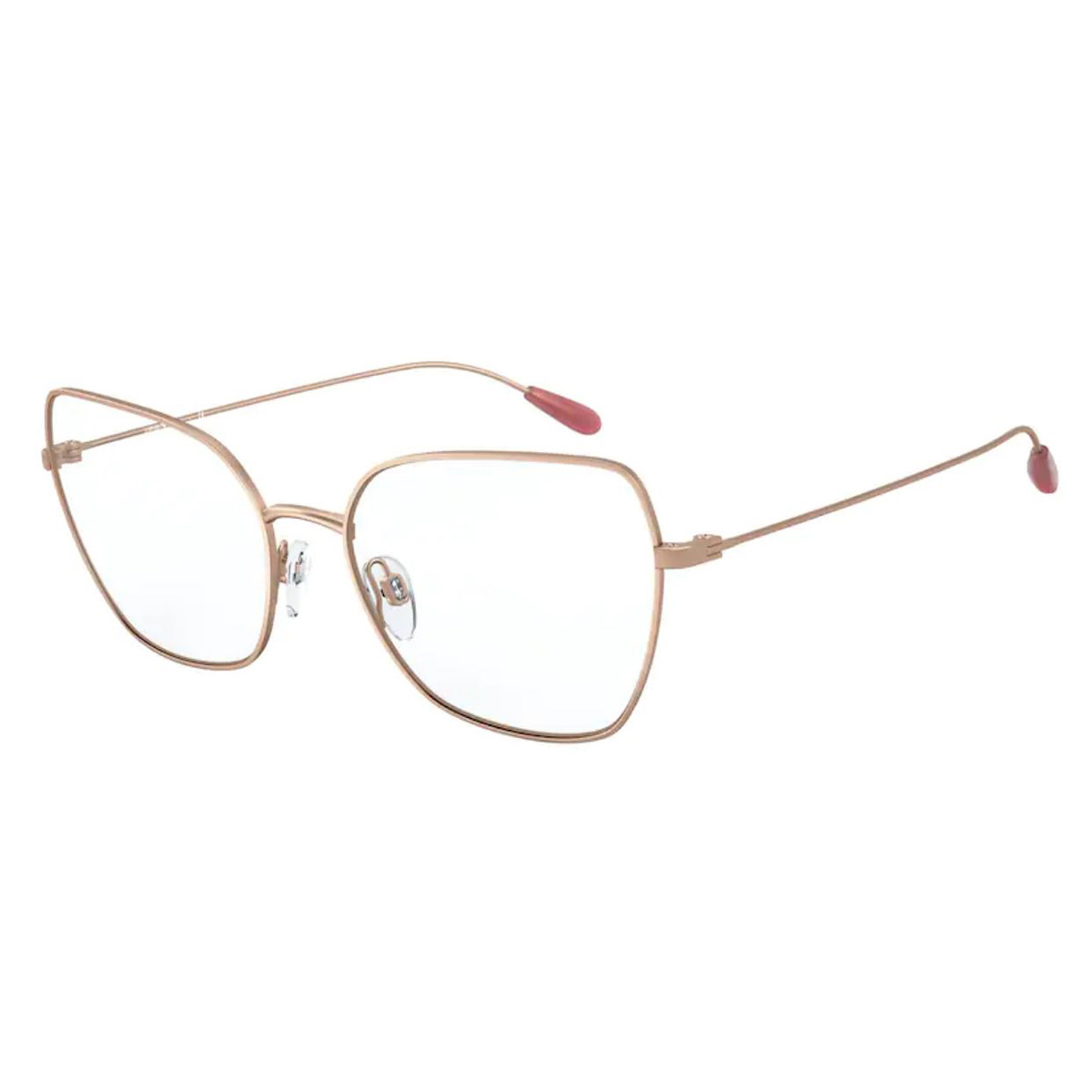 Óculos de Grau Feminino Empório Armani EA1111 Dourado Rose Fosco