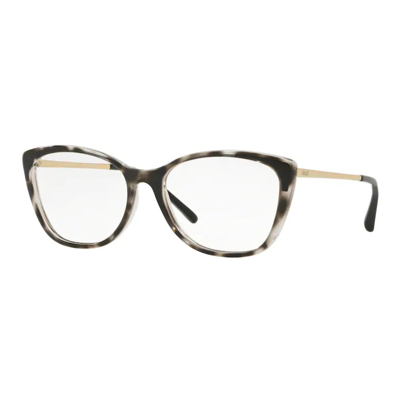 Óculos de Grau Feminino Gatinho Grazi GZ3055 Preto Havana Brilho