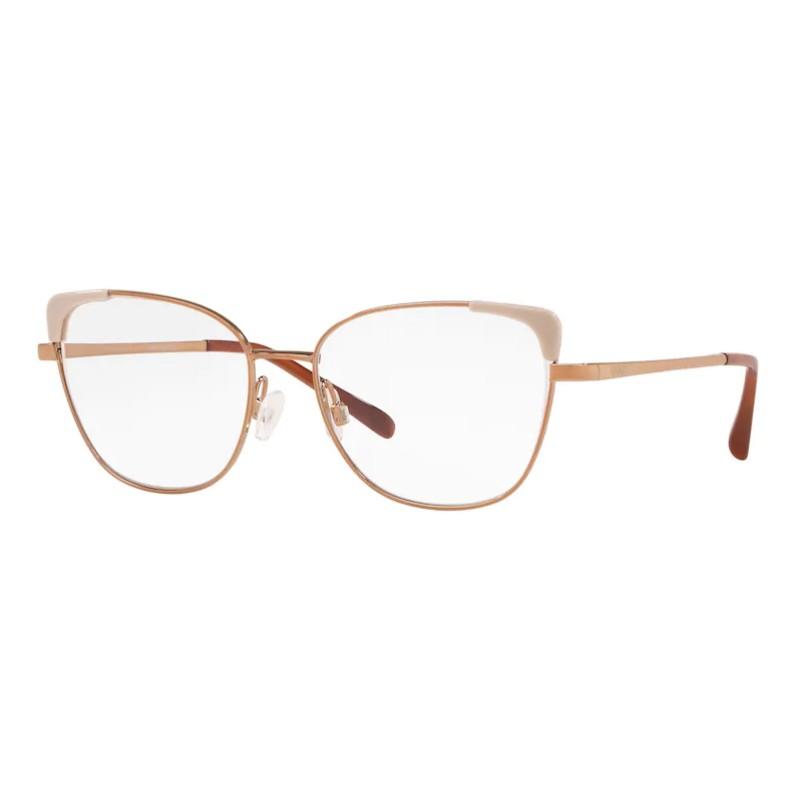 Óculos de Grau Feminino Grazi Gatinho GZ1013 Metal Bronze Fosco
