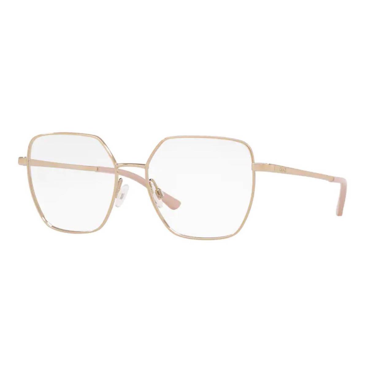 Óculos de Grau Feminino Grazi GZ1014 Dourado Brilho Tamanho 53