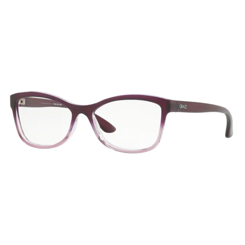 Óculos de Grau Feminino Grazi GZ3036 Roxo/ Rosa Translúcido