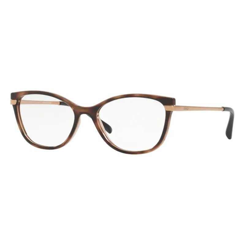 Óculos de Grau Feminino Grazi GZ3056 Marrom Havana Brilho