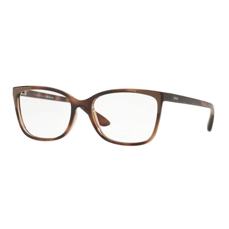 Óculos de Grau Feminino Grazi GZ3058 Marrom Havana Brilho