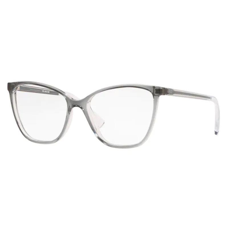 Óculos de Grau Feminino Grazi GZ3064 Cinza Translúcido Gatinho