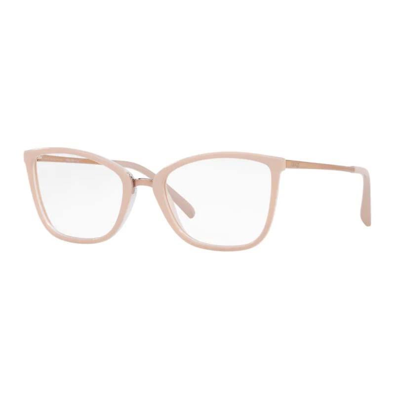 Óculos de Grau Feminino Grazi GZ3065 Nude Brilho Quadrado