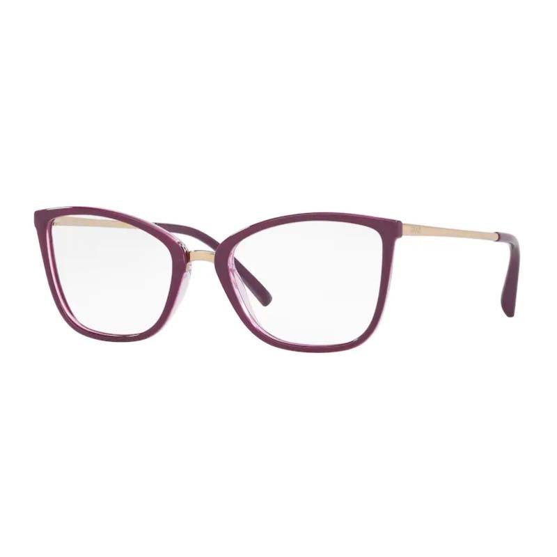 Óculos de Grau Feminino Grazi GZ3065 Roxo Brilho e Dourado