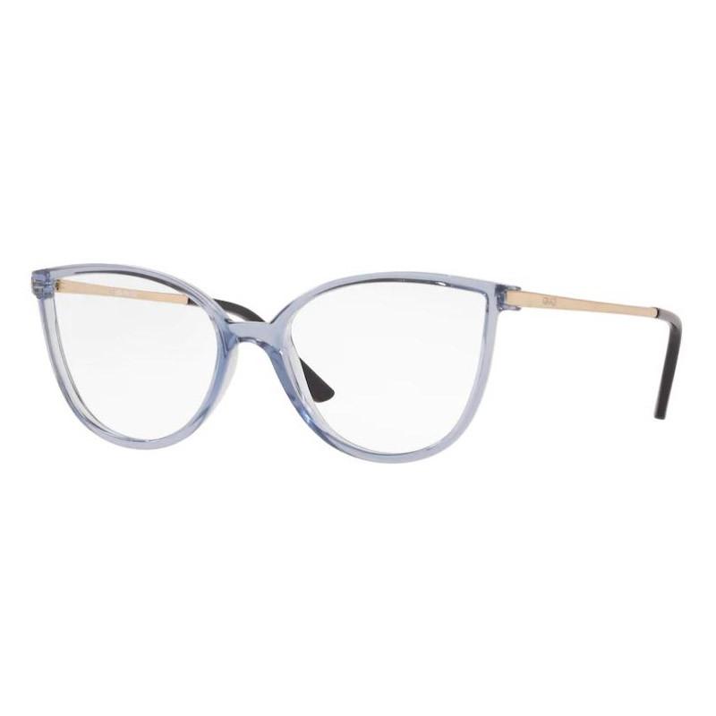 Óculos de Grau Feminino Grazi GZ3066 Azul Transparente Tamanho 51