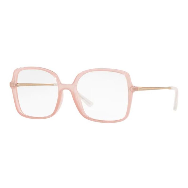 Óculos de Grau Feminino Grazi GZ3075 Rosa Translúcido Quadrado