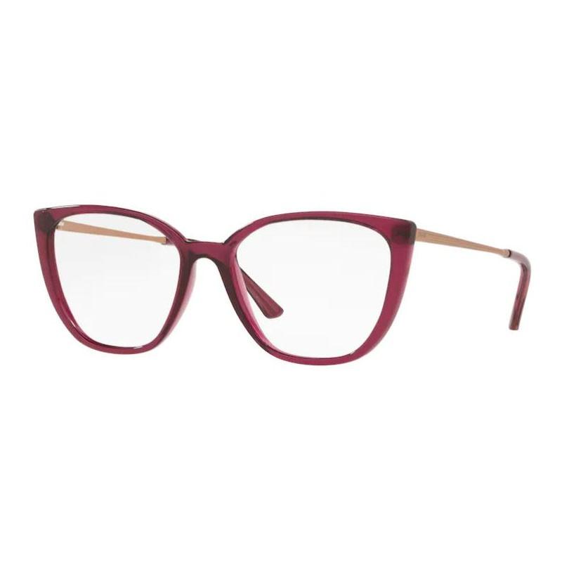 Óculos de Grau Feminino Grazi GZ3077 Bordô Translúcido