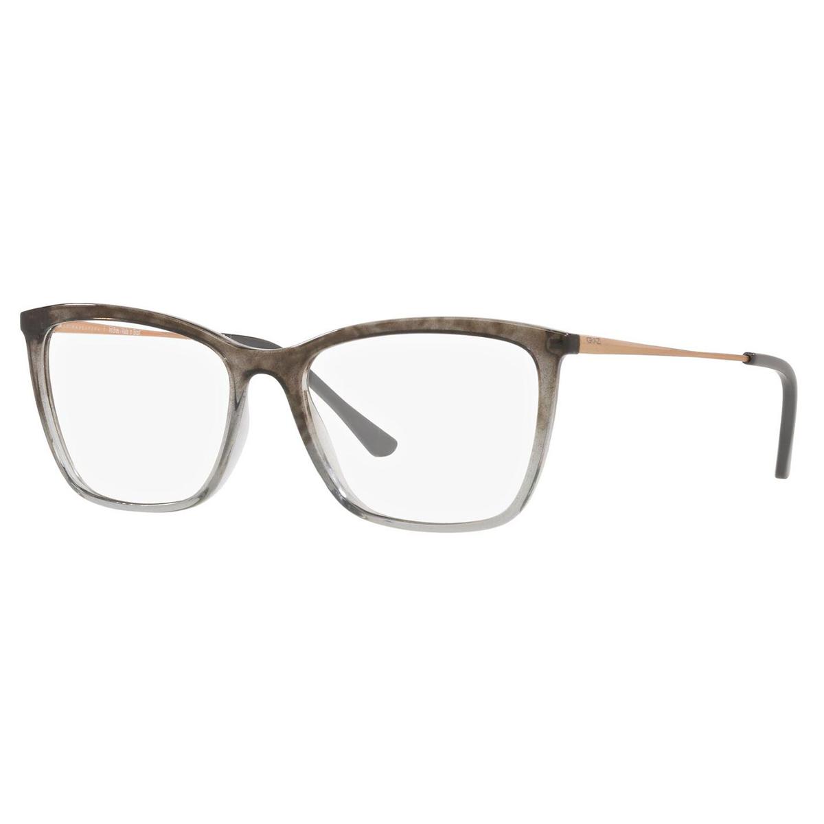 Óculos de Grau Feminino Grazi GZ3087 Cinza com Preto Translúcido