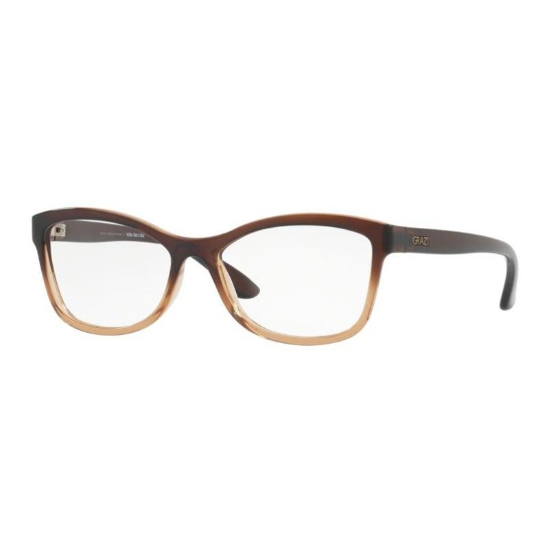 Óculos de Grau Feminino Grazi Massafera GZ3036 Marrom Degradê