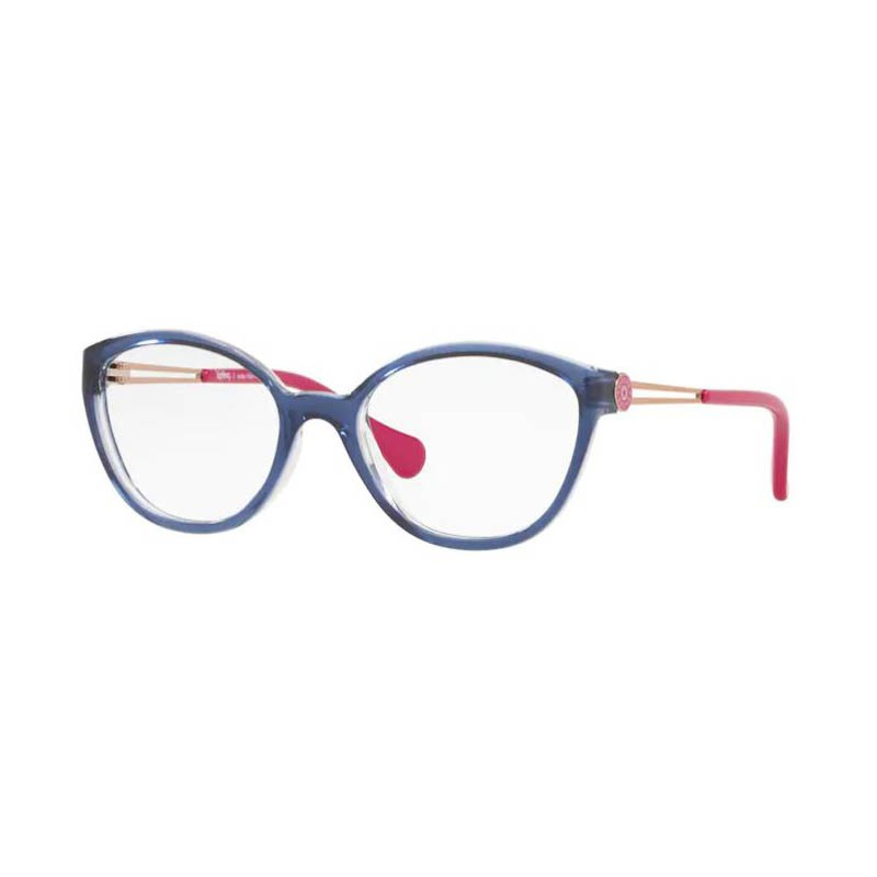 Óculos de Grau Feminino Infantil Kipling KP3123 Azul Brilho