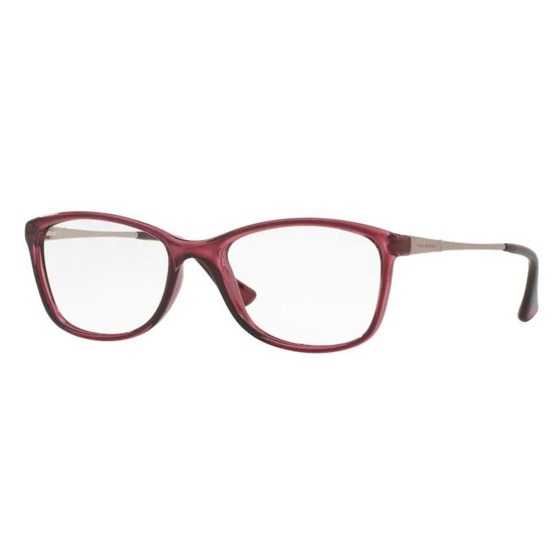 Óculos de Grau Feminino Jean Monnier J83142 Bordô Translúcido