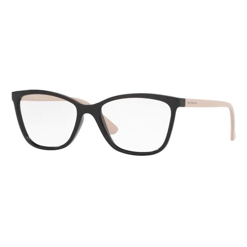 Óculos de Grau Feminino Jean Monnier J83185 Preto com Nude