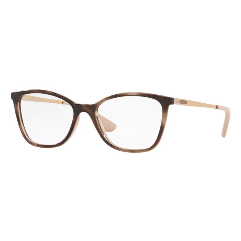 Óculos de Grau Feminino Jean Monnier J83194 Marrom Havana Brilho