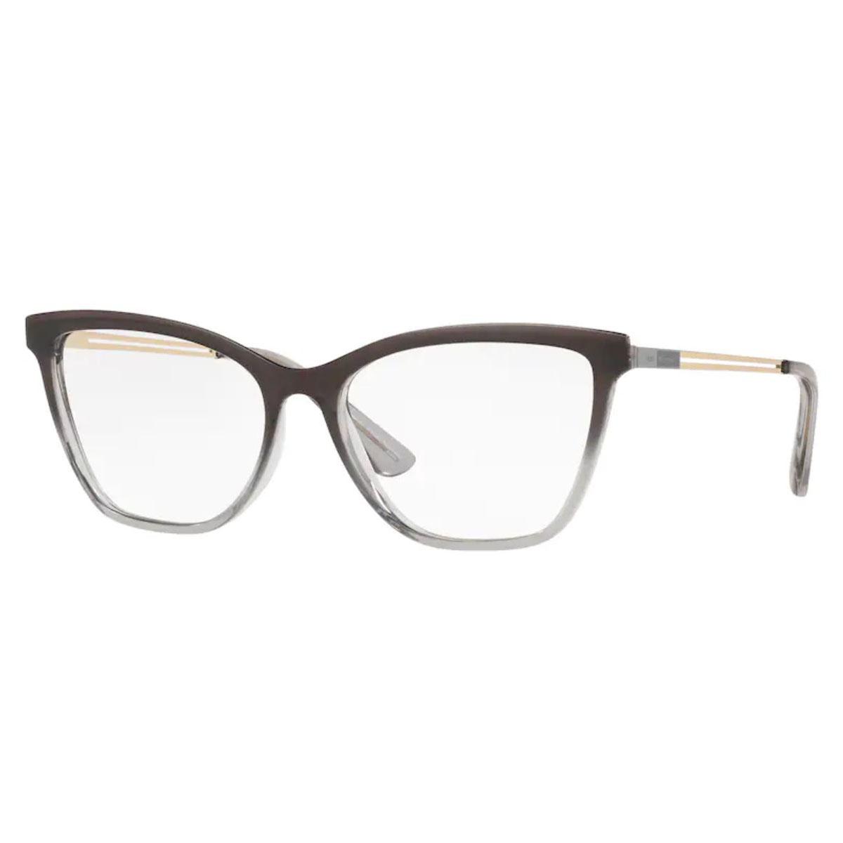 Óculos de Grau Feminino Jean Monnier J83210 Cinza Translúcido