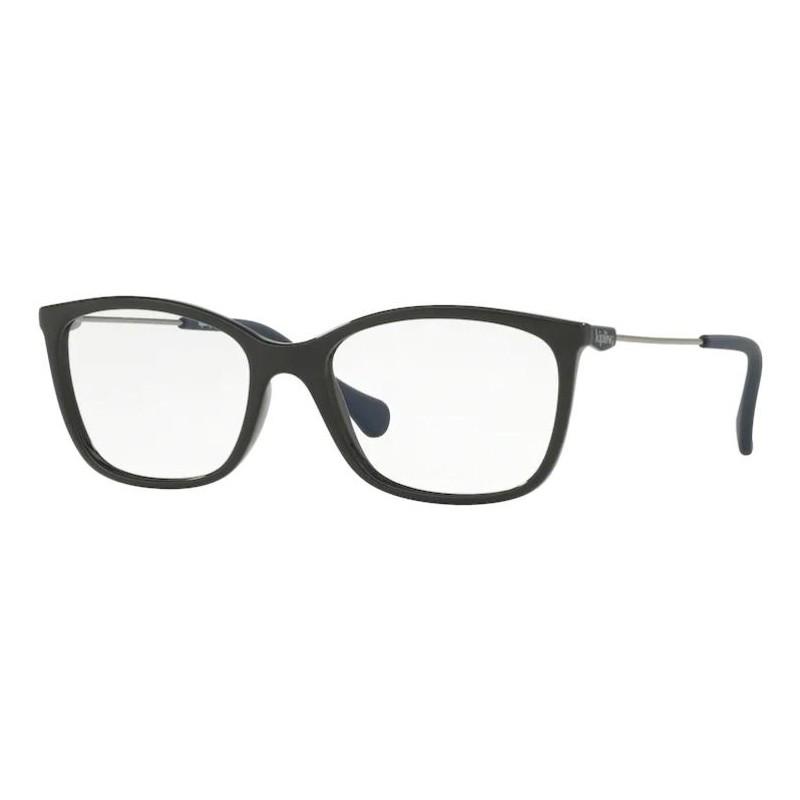 Óculos de Grau Feminino Kipling Fun KP3105 Preto Brilho Tamanho 53