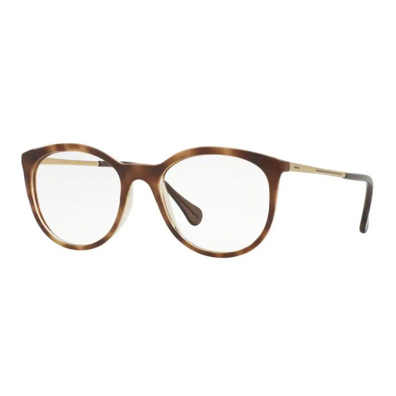 Óculos de Grau Feminino Kipling KP3078 Marrom Havana e Dourado