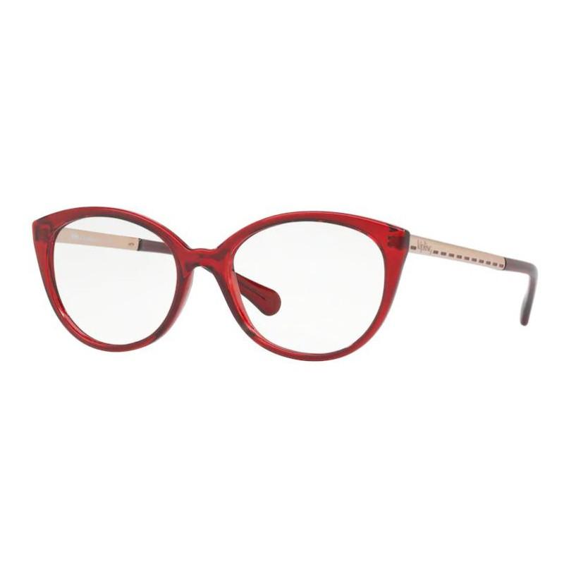 Óculos de Grau Feminino Kipling KP3093 Vermelho e Dourado