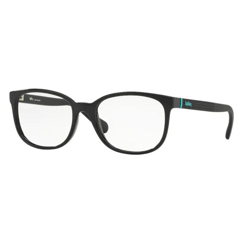 Óculos de Grau Feminino Kipling KP3097 Preto Brilho Tamanho 53