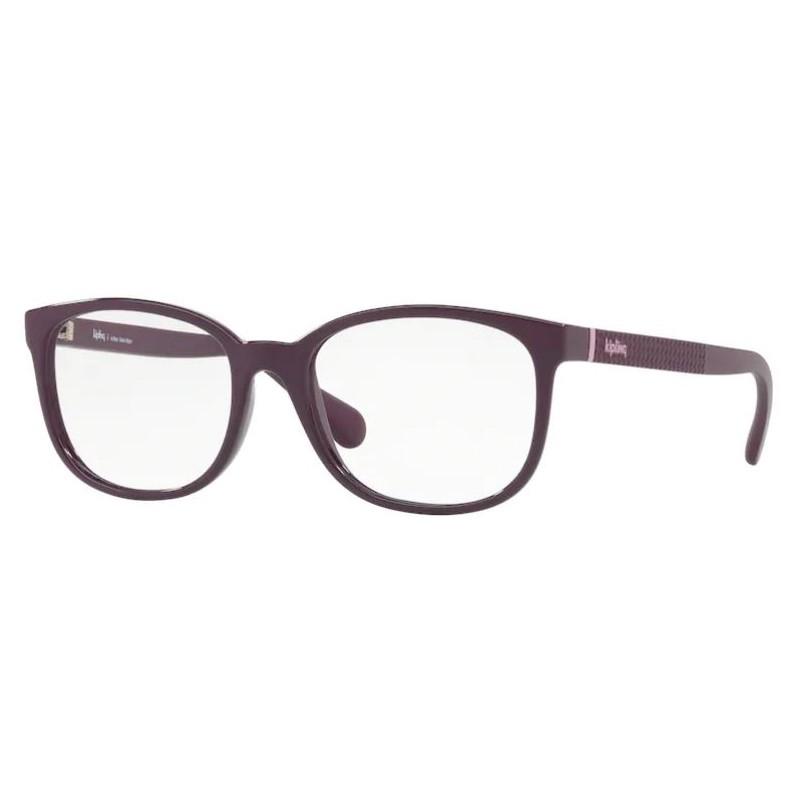 Óculos de Grau Feminino Kipling KP3097 Roxo Brilho Tamanho 53