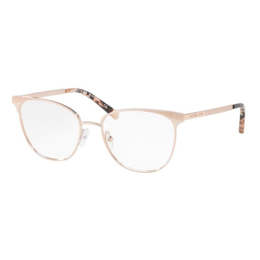 Óculos de Grau Feminino Michael Kors MK3018 Metal Dourado Rose