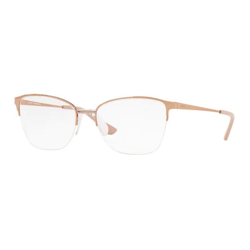 Óculos de Grau Feminino Platini P91186 Metal Dourado Rose