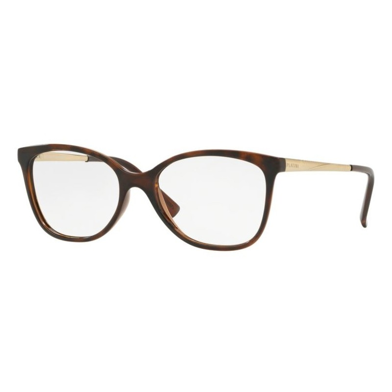 Óculos de Grau Feminino Platini P93131 Marrom Havana Gatinho