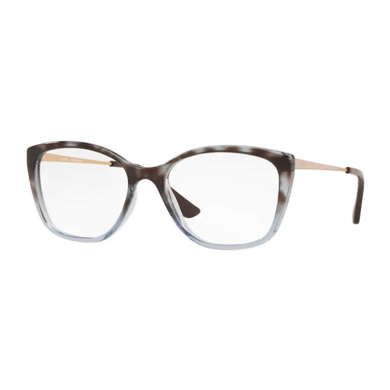 Óculos de Grau Feminino Platini P93161 Havana com Azul Brilho