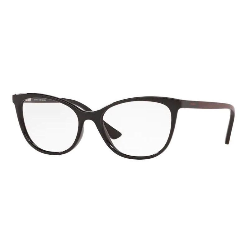 Óculos de Grau Feminino Platini P93165 Gatinho Preto Brilho