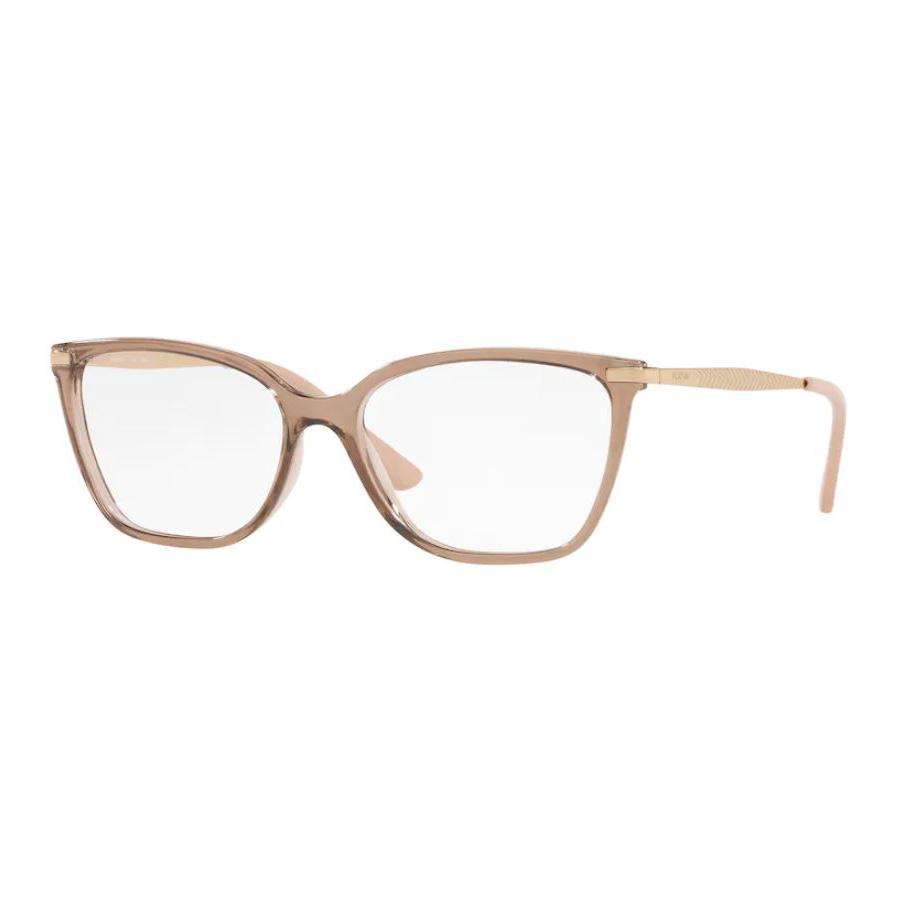 Óculos de Grau Feminino Platini P93169 Marrom Translúcido