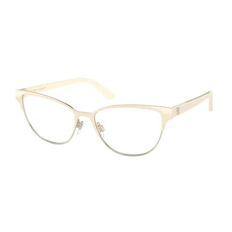 Óculos de Grau Feminino Ralph Lauren RL5108 Creme Ouro Brilho