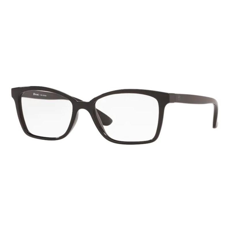 Óculos de Grau Feminino Tecnol TN3069 Preto Brilho